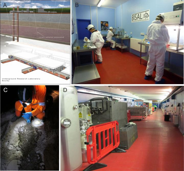 The Boulby International Subsurface Astrobiology Labortaory (BISAL)